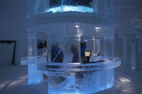 The first ever Icebar.